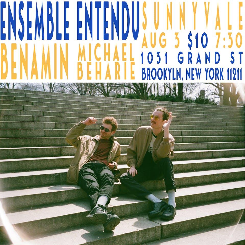Ensemble Entendu with Benamin & Michael Beharie