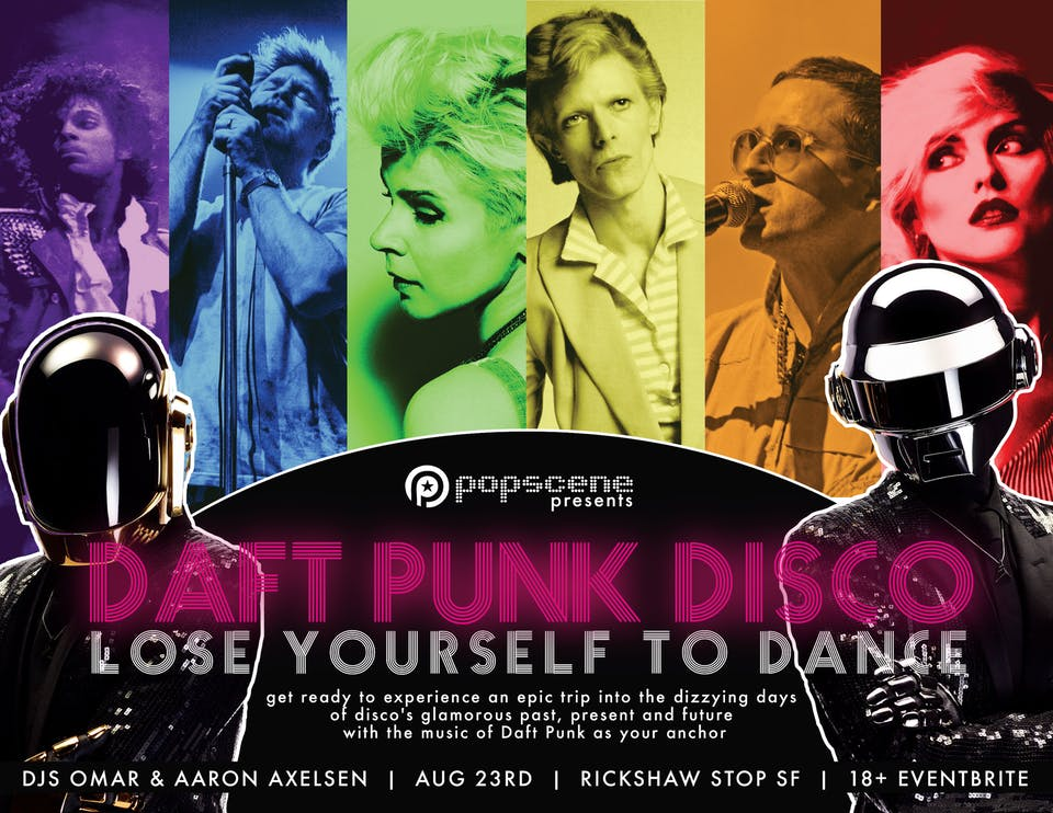 DAFT PUNK DISCO: Lose Yourself to Dance