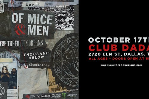 Of Mice & Men at Club Dada