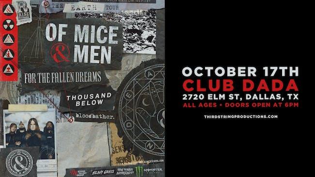 Of Mice & Men at Club Dada