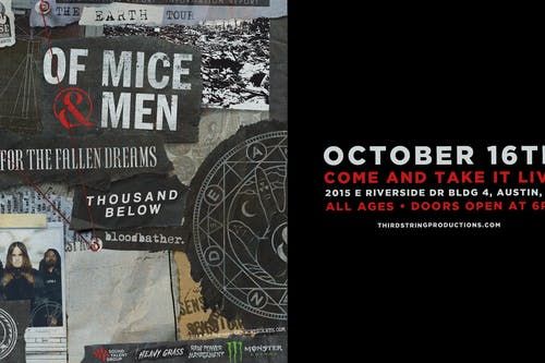 Of Mice & Men at Come & Take It Live