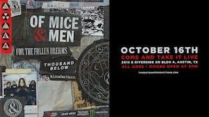 Of Mice & Men at Come & Take It Live