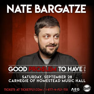 NATE BARGATZE: Good Problem to Have