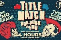 Title Match: Pop-Punk vs EMO