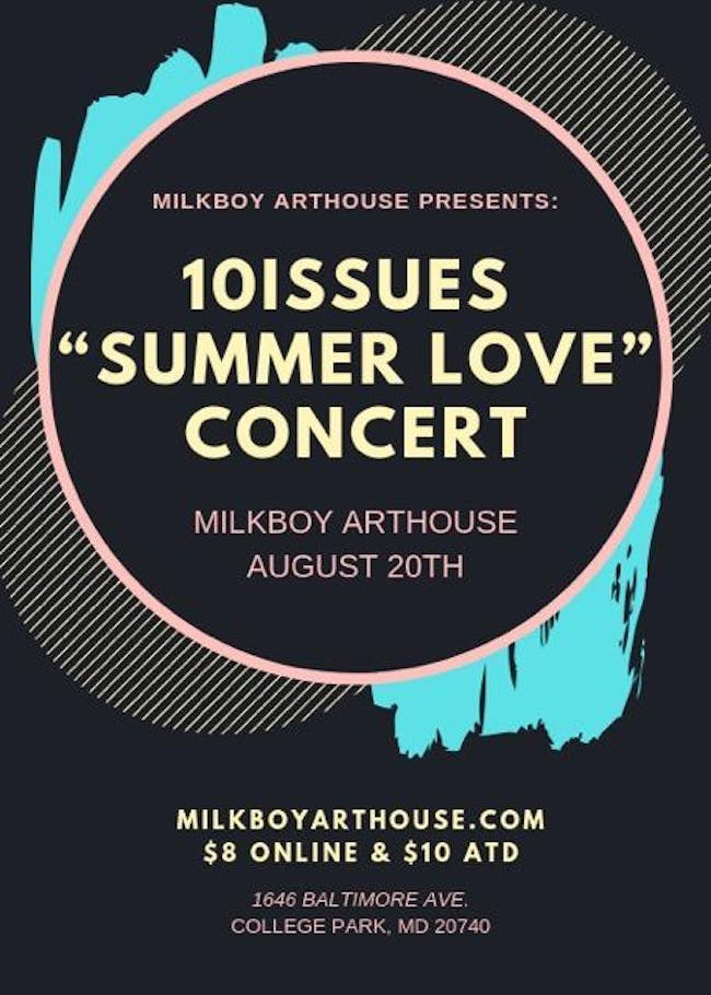 """10ISSUES """"Summer Love"""" Concert"""