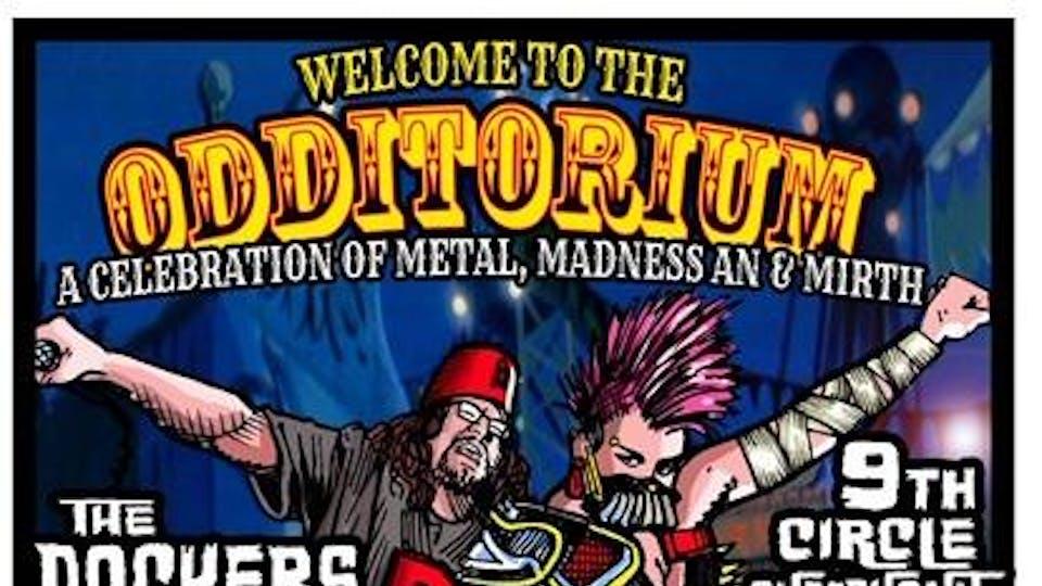 WELCOME TO THE ODDITORIUM