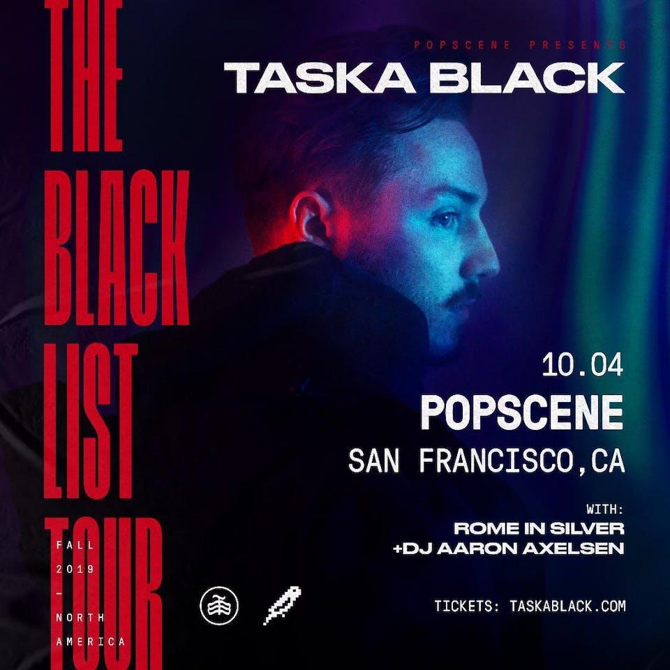 TASKA BLACK with ROME IN SILVER