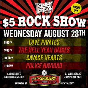 The $5 Rock Show