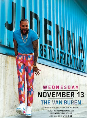 JIDENNA - 85 to Africa Tour