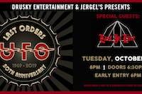 UFO - Last Orders 50th Anniversary Tour