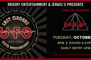 UFO - Last Orders 50th Anniversary Tour