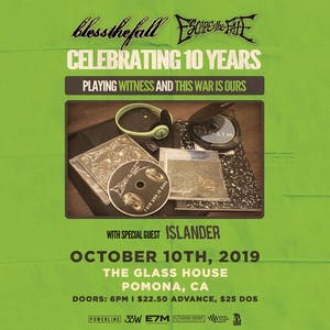 The Glass House » Bless the Fall x Escape the Fate with Islander