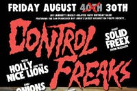 JOE LAMBERT'S 40th BIRTHDAY BASH w/ CONTROL FREAKS & SOLID FREEX + 4 MORE