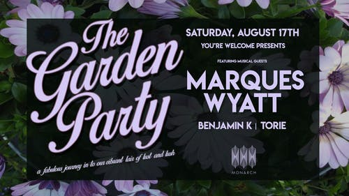 The Garden Party with Marques Wyatt // Benjamin K // Torie