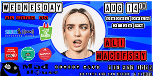 Ali Macofsky from the Just for Laughs Festival!