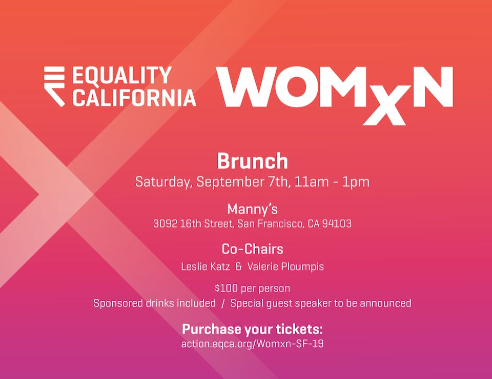 Brunch with Equality California Womxn