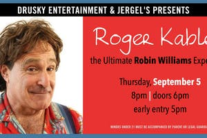 Roger Kabler - The Ultimate Robin Williams Experience