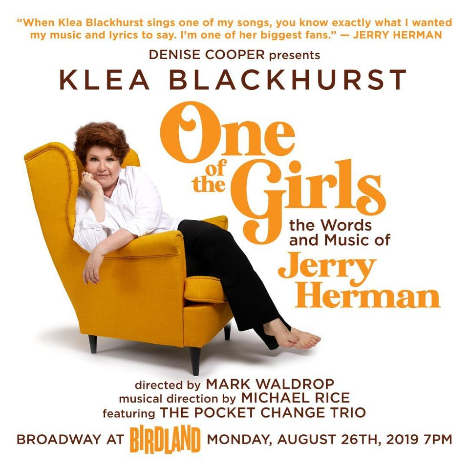 "Klea Blackhurst ""One of the Girls"""