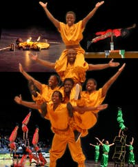 Zuzu Acrobats Presenting African Cirque Spectacular