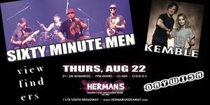 Sixty Minute Men w/ Kemble | Viewfinders | Daywish