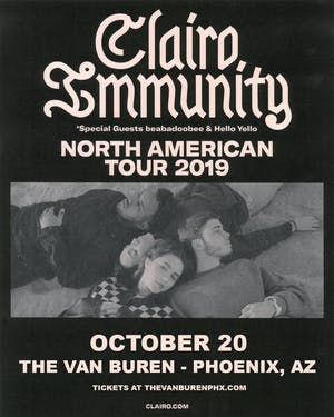 Clairo - Immunity Tour