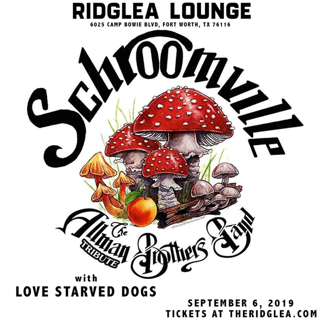 Schroomville, Love Starved Dogs in the Lounge