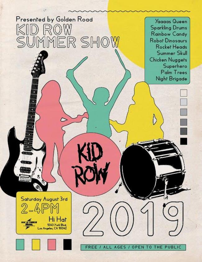 Kid Row Winter Showcase