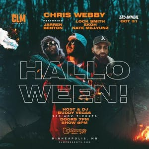 "Chris Webby ""World Wide Web"" Tour *3rd Annual Halloween Show"
