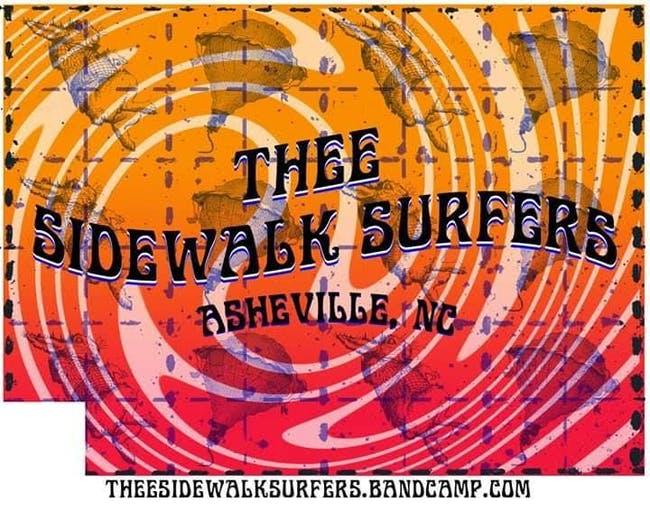 Thee Sidewalk Surfers (Album Release)