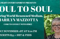 Soul to Soul: featuring Marilyn Mazzotta come to connect with spirit