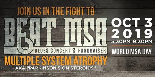 Beat MSA: Blues Concert & Fundraiser