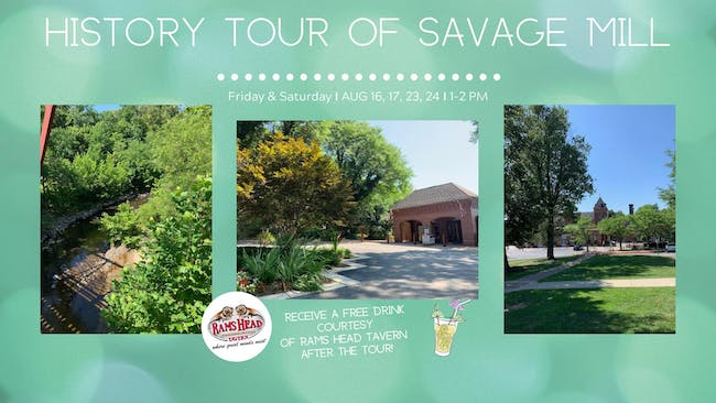 History Tours of Historic Savage Mill