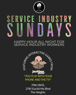 Service Industry Sundays