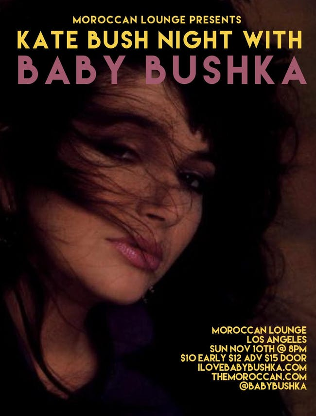 Baby Bushka: Kate Bush Night