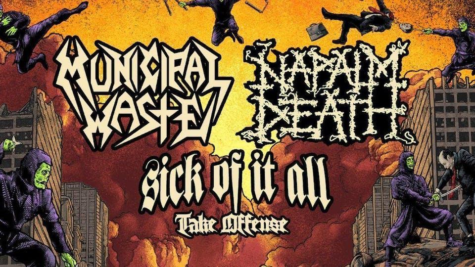 Napalm Death, Municipal Waste
