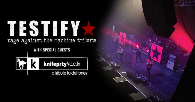 Testify: Rage Against the Machine Tribute @ 191 Toole