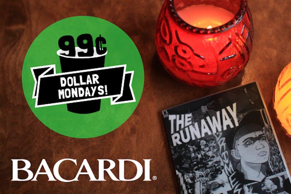 Dollar Mondays: 99¢ Bacardi