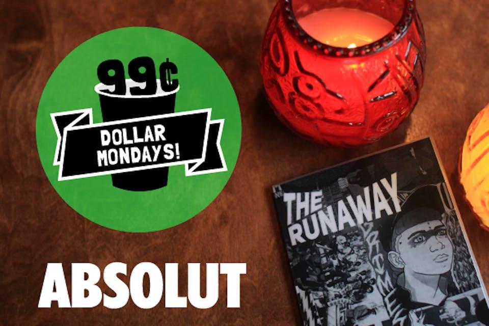 Dollar Mondays: 99¢ Absolut
