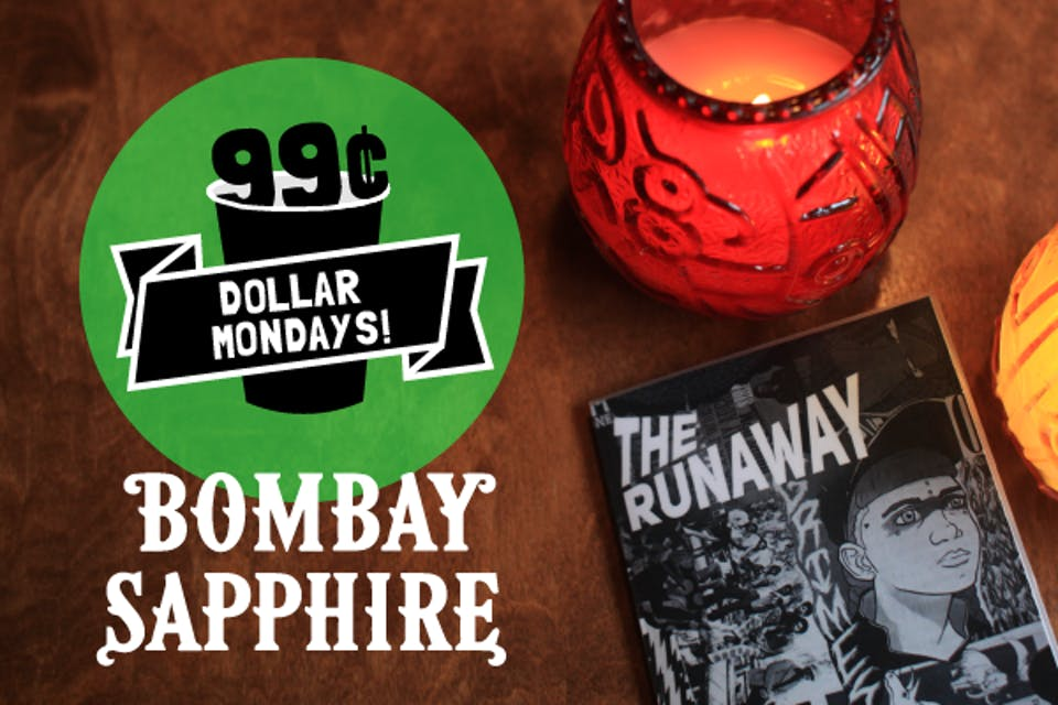 Dollar Mondays: 99¢ Bombay