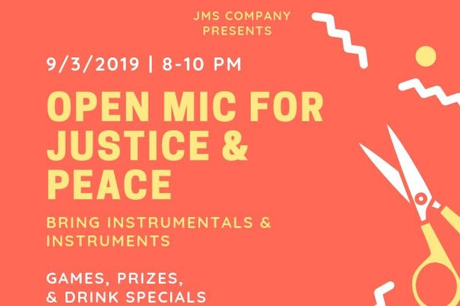 Open Mic For Justice & Peace