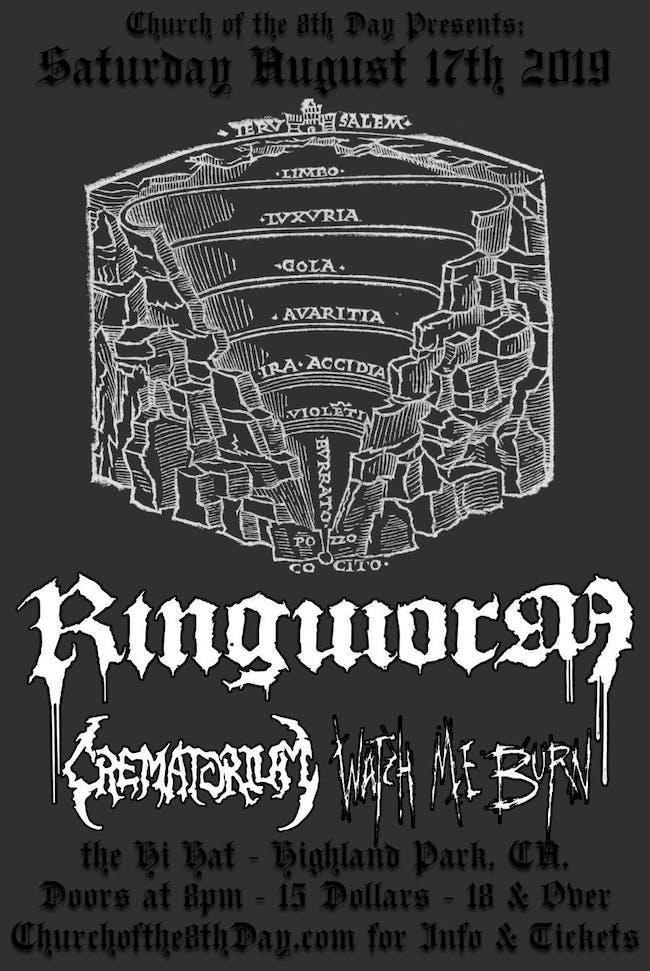 Ringworm, Crematorium, Watch Me Burn
