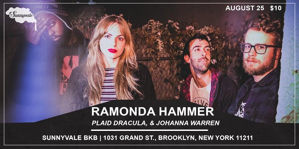 Ramonda Hammer, Plaid Dracula, & Johanna Warren