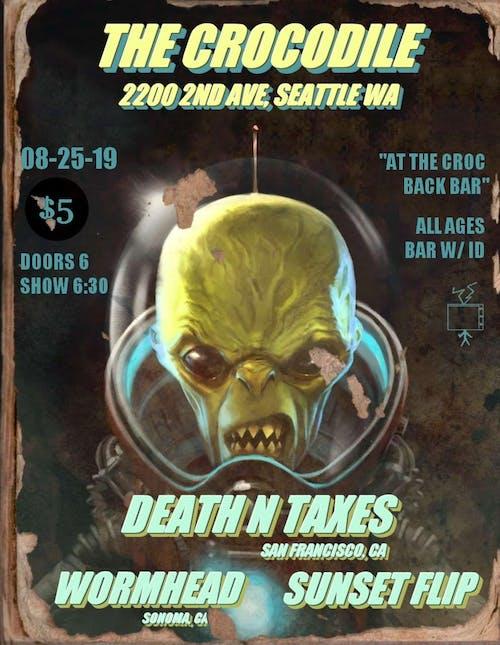 Death N Taxes @ The Back Bar