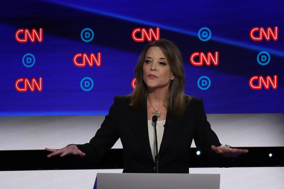 A Conversation with US Presidential Candidate Marianne Williamson