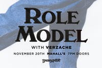 ROLE MODEL w/ Verzache & Cassidy King @ Mahall's (11/20)