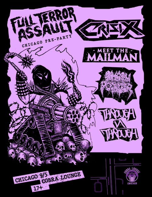 Full Terror Assault 2019 Pre Party