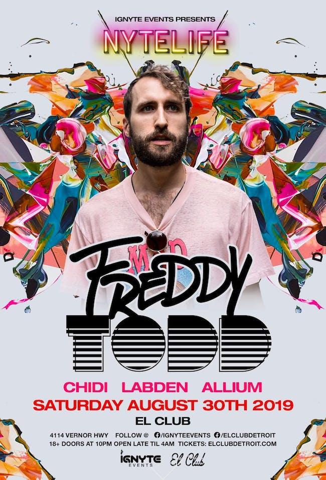 Freddy Todd, Chidi, Labden, Allium