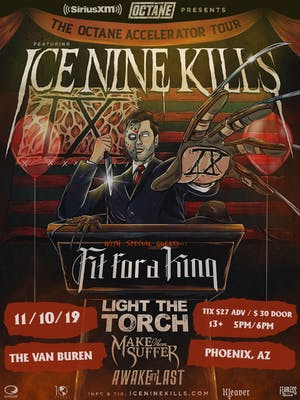 The Octane Accelerator Tour featuring Ice Nine Kills