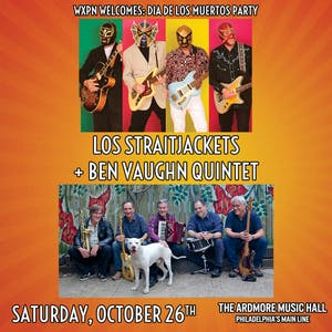 Los Straitjackets + The Ben Vaughn Quintet