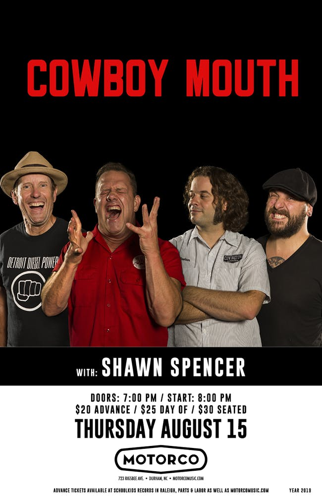 COWBOY MOUTH / Shawn Spencer